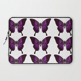 Fancy Purple Butterfly Laptop Sleeve