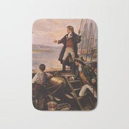Francis Scott Key - Star Spangled Banner Painting Bath Mat