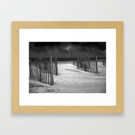Storm on the Horizon Framed Art Print