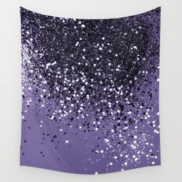 ULTRA VIOLET Glitter Dream #2 #shiny #decor #art #society6 Wall Tapestry