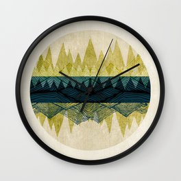 Exhale Wall Clock