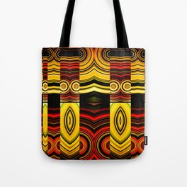 Fractured Ring 19 Tote Bag