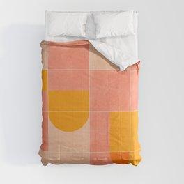 Retro Tiles 03 Comforters