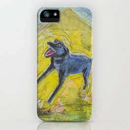 Bark by GJ Gillespie iPhone Case