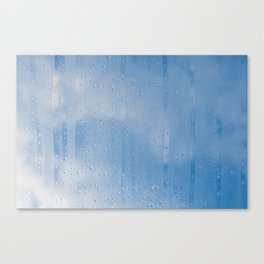 Abstract of condensation and vapor Canvas Print