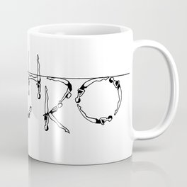 Old School Design Coffee Mug