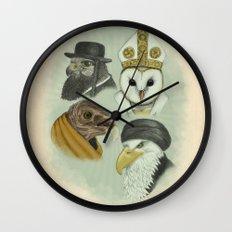 Birds of Pray Wall Clock