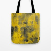 spice Tote Bags featuring safron spice by patternization