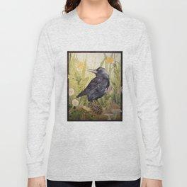 Canuck the Crow Long Sleeve T-shirt