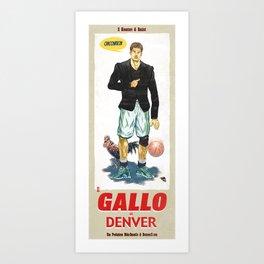 Gallo di Denver Art Print