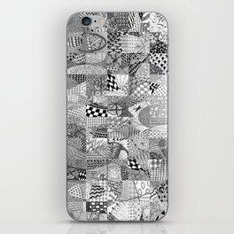 Doodling Together #1 iPhone Skin