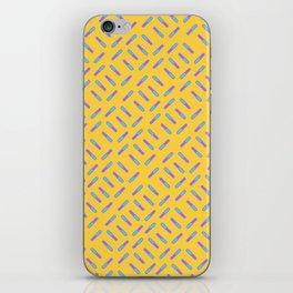 Rod Pattern iPhone Skin