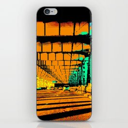Bay Bridge Evening Pixelart iPhone Skin