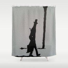 Walking Home Shower Curtain