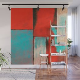 The Corners of My Mind, Abstract Painting Wall Mural