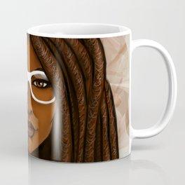 White Glasses Coffee Mug