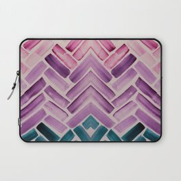 Decor Colorful Watercolor Abstract Pattern Laptop Sleeve