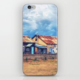Mennonite old house iPhone Skin