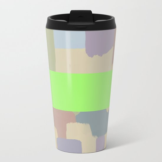 Abstract Painting No. 15 Metal Travel Mug