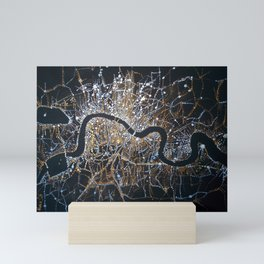 Night London Mini Art Print