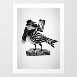 Smartbird Art Print