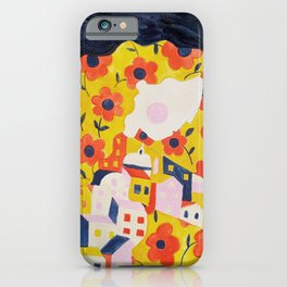 Flower Woman iPhone Case