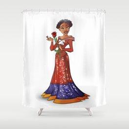 Princess Harriet Tubman (Trumble Cartoon) Shower Curtain