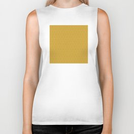 Yellow Gold Très Petit Geometric Pattern Biker Tank