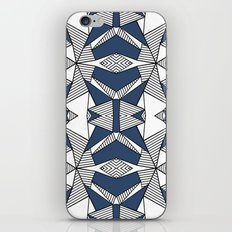 Triangle Tribal #2 Navy iPhone & iPod Skin