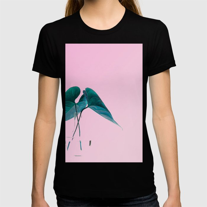 Pink Plant T-shirt