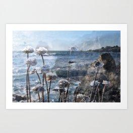 BODEGA BAY Art Print