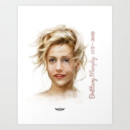 Brittany Murphy Art Print