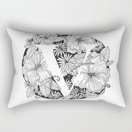 Flower V Rectangular Pillow