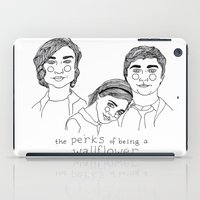 the perks of being a wallflower iPad Cases featuring The Perks of Being a Wallflower by ☿ cactei ☿