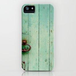The Green Door iPhone Case