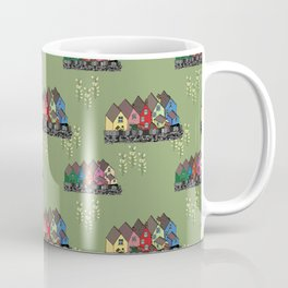 Colourful houses of Cobh Ireland Coffee Mug