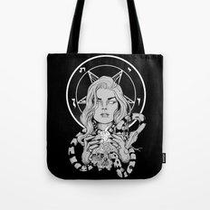 Black Mass Ritual Tote Bag