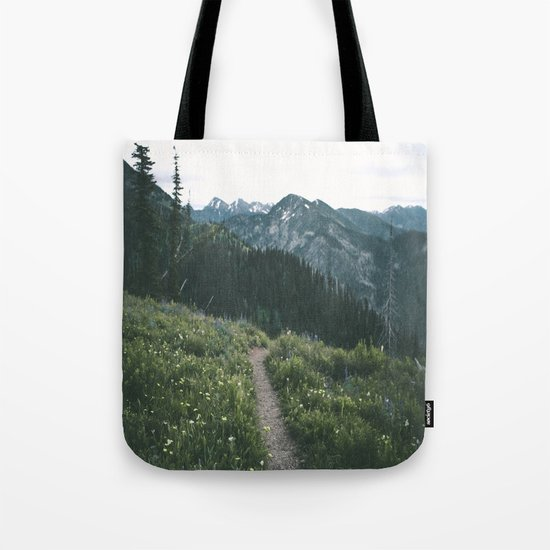 Happy Trails III Tote Bag