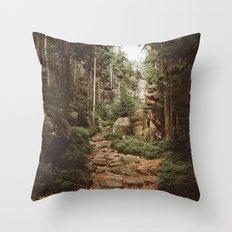 Table Mountains Throw Pillow