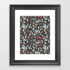 Dandelion Dusk Framed Art Print