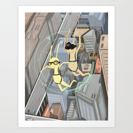TRIZ Extended [collap w Sweet Aleksandra] Art Print