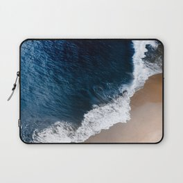 Deep blue shore Laptop Sleeve