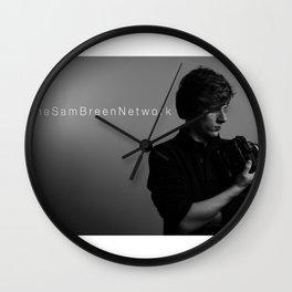 Shameless Self Portrait Wall Clock
