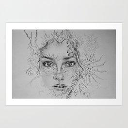 How Do I Begin? Art Print