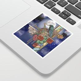 Ravens Moon Sticker