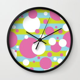 Party Confetti 2 Wall Clock