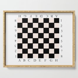 chessboard 6 Serving Tray