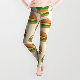 Cute Burgers Leggings
