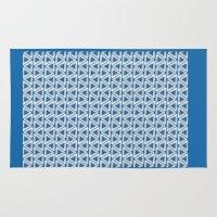 escher Area & Throw Rugs featuring Escher #005 by rob art | simple