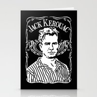 kerouac Stationery Cards featuring Jack Kerouac by Josep M. Maya